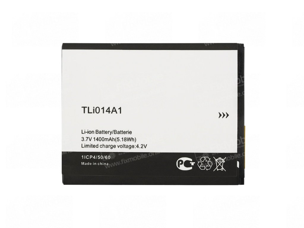 Аккумуляторная батарея для Alcatel Pop D3 (4035D) TLi014A1