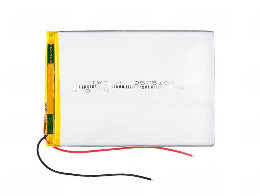 Аккумуляторная батарея универсальная 3570100p 3,7v 3200 mAh 3.5*70*100 мм