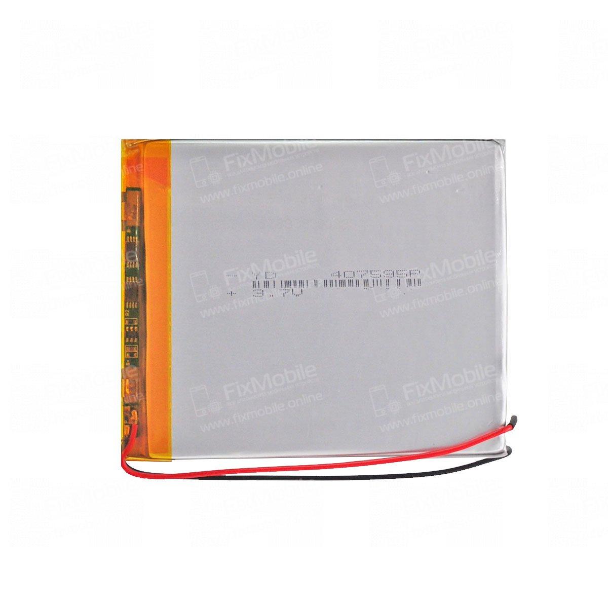 Аккумуляторная батарея универсальная 407595p 3,7v 3200 mAh 4*75*95 мм